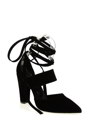 Derigo Topuklu Ayakkabı Siyah